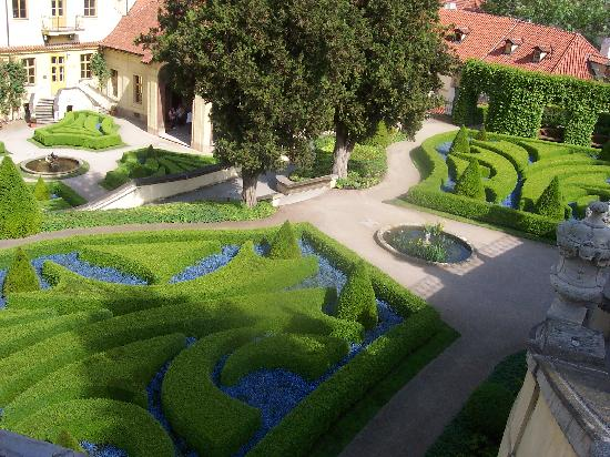 Aria Hotel Prague by Library Hotel Collection: Baroque Gardens at the Aria