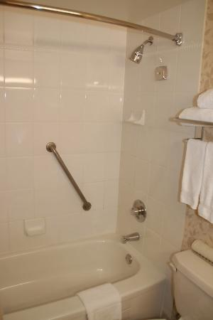 Four Points by Sheraton Vancouver Airport: Shower