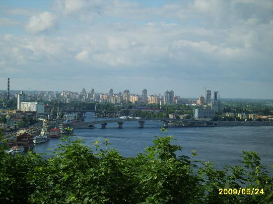 Kiev Overlooking Dnipro River Picture Of Kiev Ukraine