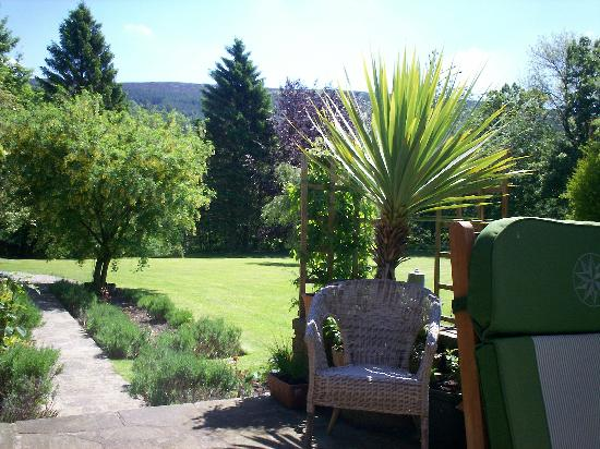 Knowles Lodge: A view from the terrace