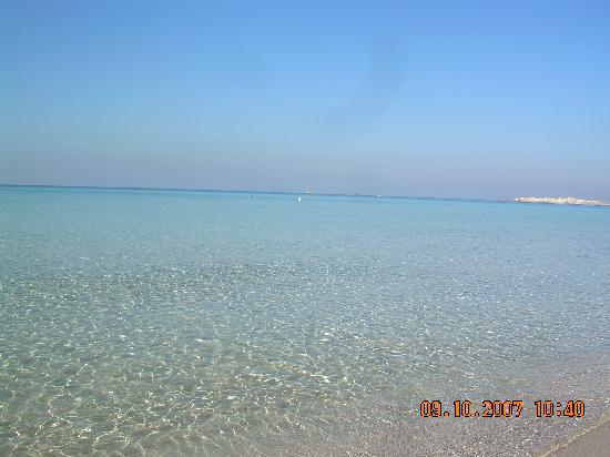Gallipoli, อิตาลี: Stunning View from Baia Verde Beach