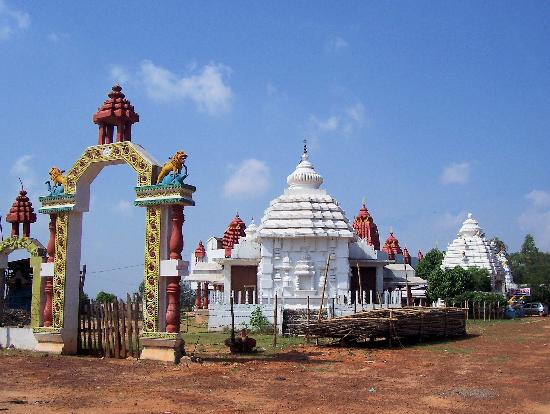 Mausi Maa Temple in Bidanasi, Cuttack