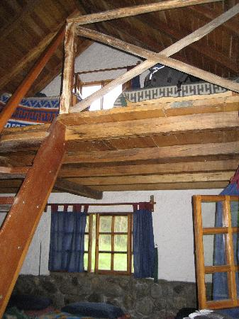 "Hosteria Izhcayluma: Upper level of ""dorm"" room"