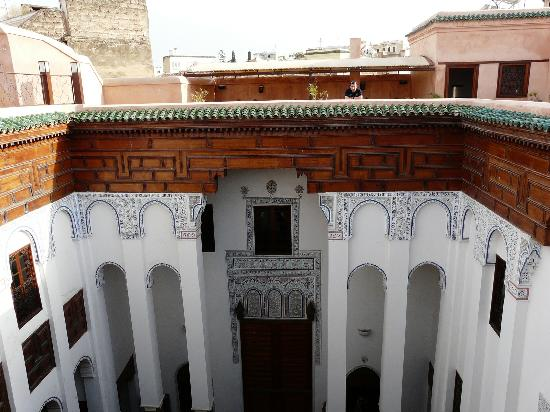 Riad Laaroussa Hotel and Spa: riad Laaroussa terrasse
