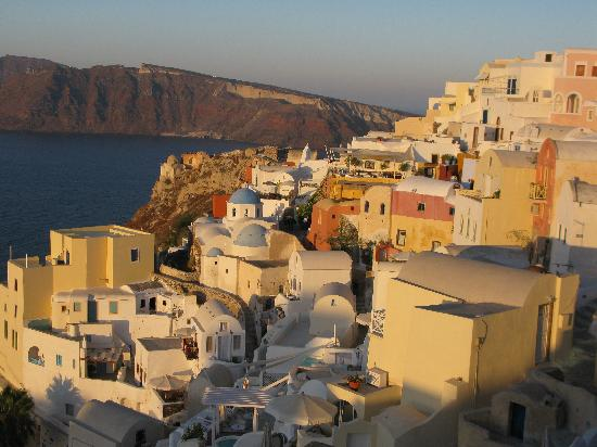 Old Oia Houses: View from our Balcony!