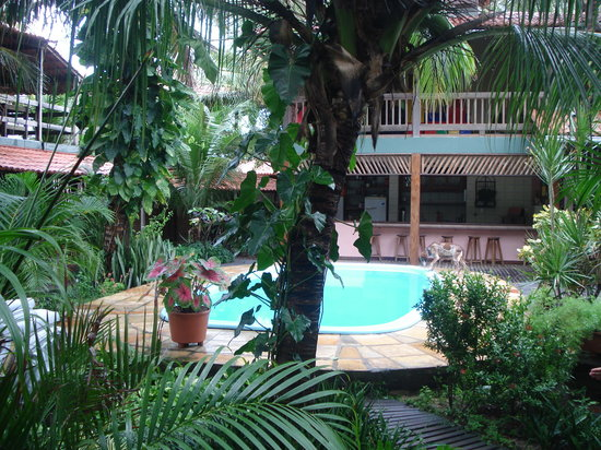 Pousada Vila Bela Vista: pura naturaleza y pileta que tiene la posada!