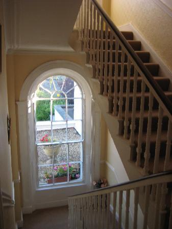 Abbeyleigh House : Bright hallway/stairwell