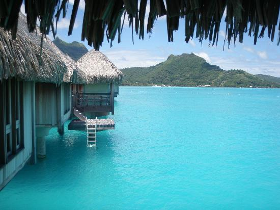 The St. Regis Bora Bora Resort : The view from our bungallow