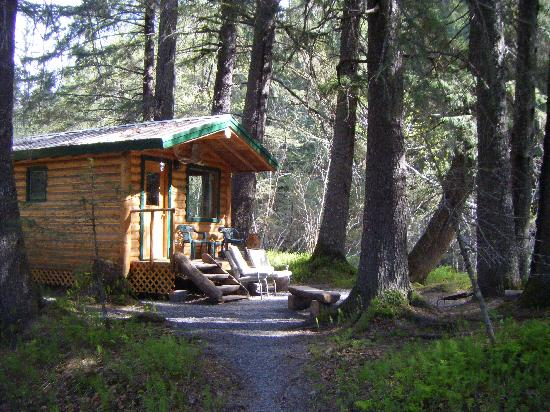 Alaska Creekside Cabins: another view