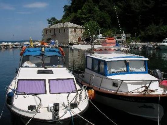 Skala Potamias Harbour