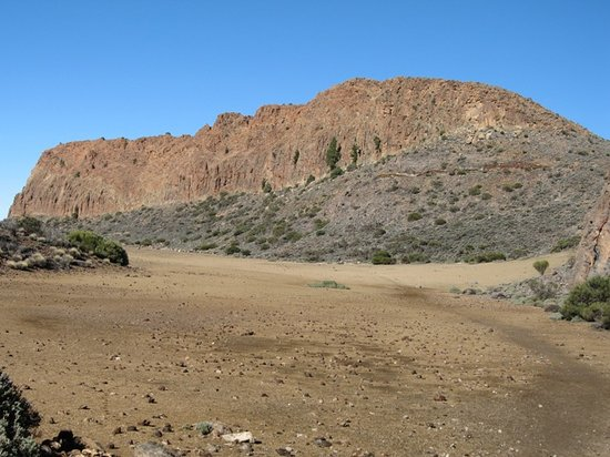 Tenerife, Spain: La Fortalezza am Teide