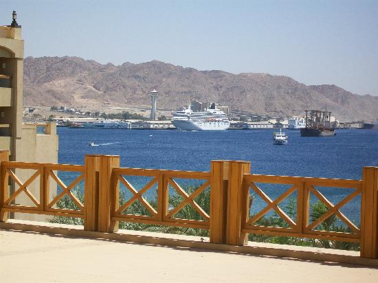 InterContinental Aqaba Resort: View of the Gulf of Aqaba From my Room