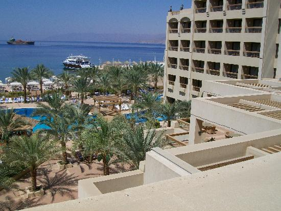 InterContinental Aqaba Resort: Beautiful Grounds and Palm Trees
