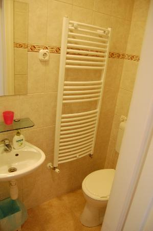 Danube Guest House: Part of the bathroom