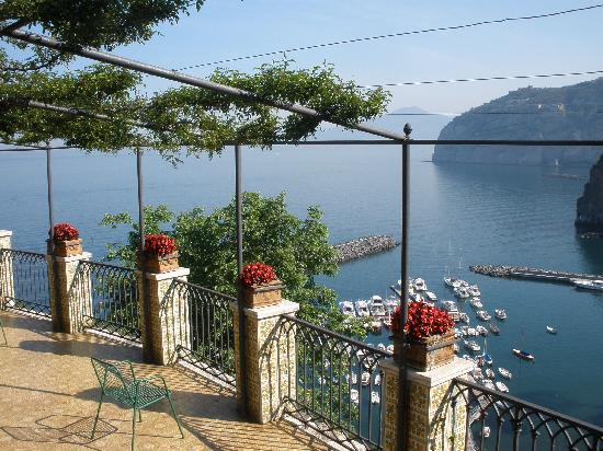 Domus San Vincenzo: The amazing view from the terrace