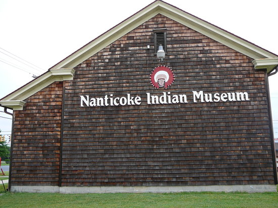 Millsboro, DE: Side view of Nanticoke Indian Museum