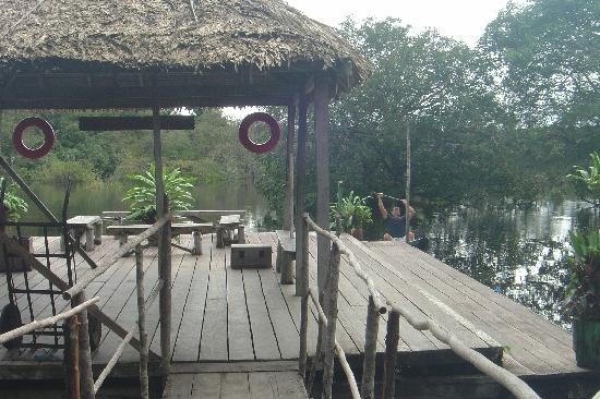 Amazon River, AM: the dock
