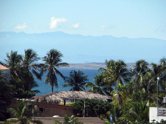 Posada Yemaya: A Stunning view from the breakfast lounge.