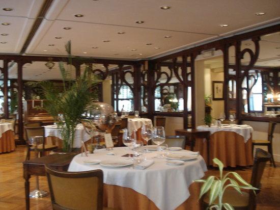 Restaurant Hiely Lucullus: Interior