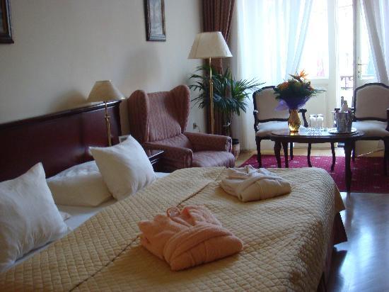 Hotel Romance Puskin: Nuestra habitación, muy amplia