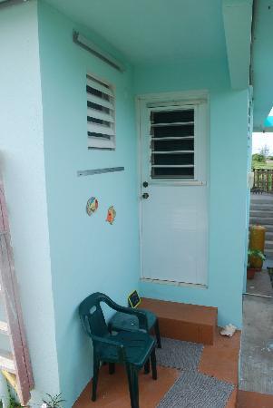 Casa de Kathy : the door to our apartment