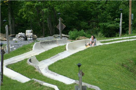 Ober Gatlinburg Amusement Park & Ski Area: Alpine slide