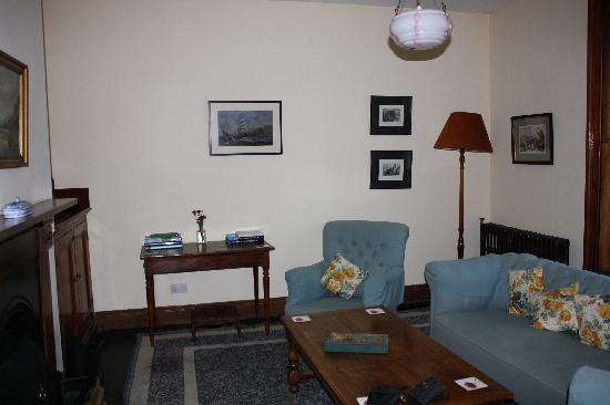 Blackhead Lightkeepers' Houses: The cozy living room