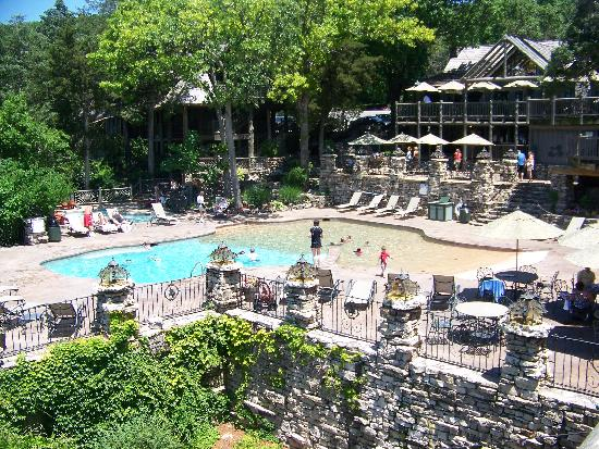 One Of The Many Pools Picture Of Big Cedar Lodge