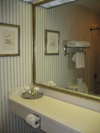 Farmington Inn: vanity in bathroom