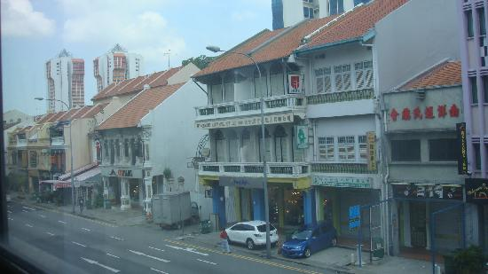 Pinnacle Hotel: street view from the hotel