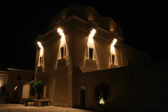 Masseria San Domenico: Visione notturna