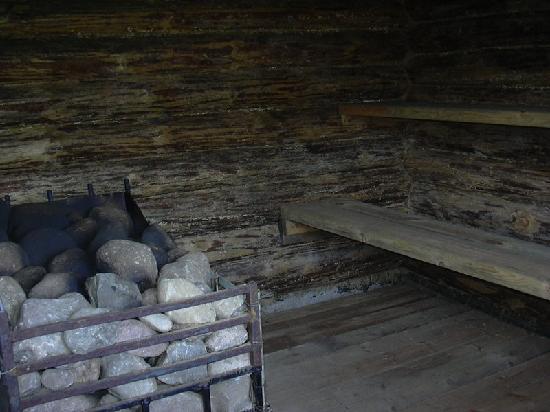 Kaunata, Lettland: Sauna