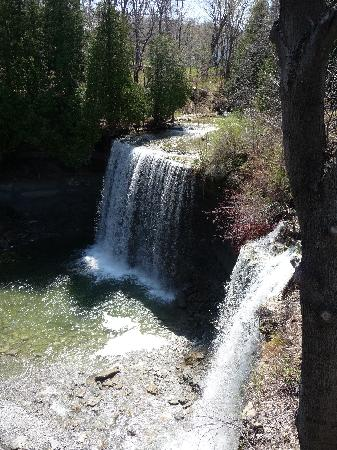 Little Current, Canada: Bridal veil falls