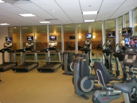 Marriott Chicago Southwest at Burr Ridge: The gym