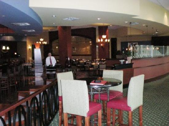 Chicago Marriott Southwest at Burr Ridge: Ciazza restaurant and bar