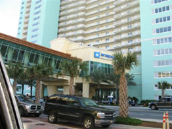Front Of Hotel Picture Of Wyndham Vacation Resorts