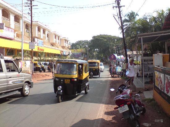 Candolim, อินเดีย: taxi
