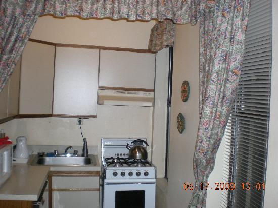 โรงแรมกราซีย์ อินน์: View of the kitchenette
