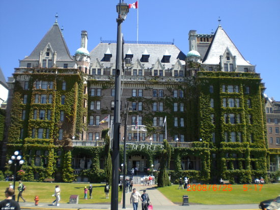 Βικτόρια, Καναδάς: Empress Hotel, Victoria