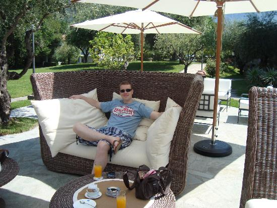 Santavenere Hotel : The Wicker furniture
