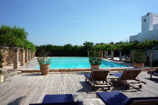 Masseria Torre Maizza: La piscina. Incantevole..