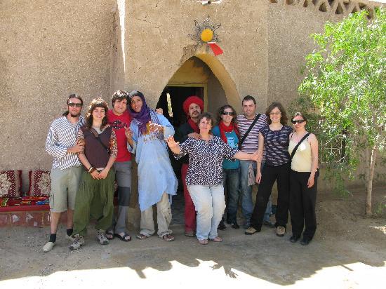 Kasbah Sable D'or: la familia du sable d´or