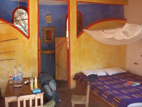 Posada Mexico: Our room with private bathroom at the back