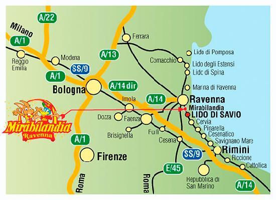 Hotel Saint Tropez: dove  siamo