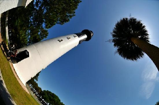 Hunting Island State Park Campground: Hunting I sland Lighthouse