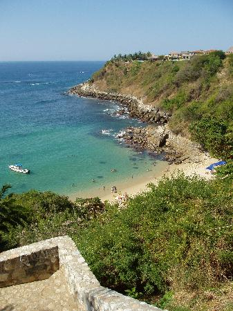 Quinta Lili: Carrizalillo Beach, from above