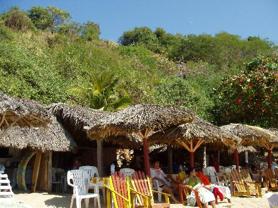 Quinta Lili: Carrizalillo Beach, on the beach