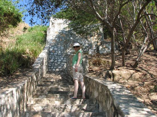 Quinta Lili : Staircase to the Carrizalillo Beach