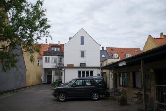 Centralhotellet Koge: Rückseite Hotel