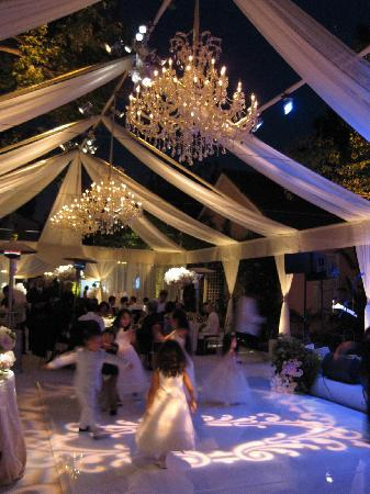 Hotel Bel Air Wedding Reception Area